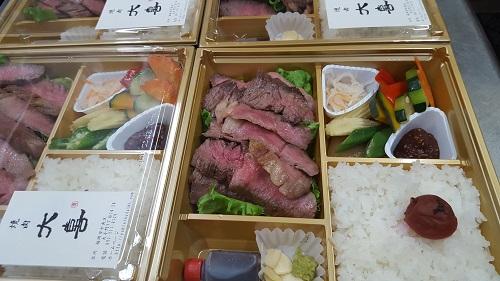 焼肉、ステーキの特注弁当